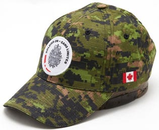 Soldier On Camo Ball Cap