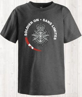 Soldier On Youth T-Shirt