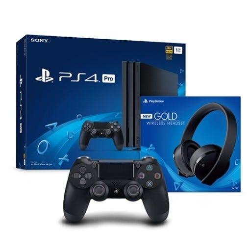 PS4 Pro 1TB Bundle