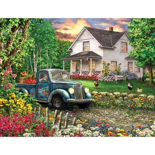 Springbok 500 Piece Puzzle Simpler Times (EA1)