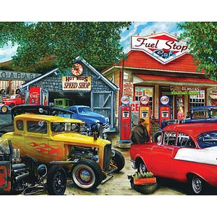 Springbok 1000 Piece Puzzle Hot Rod Café (EA1)