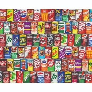 Springbok 1000 Piece Puzzle Retro Refreshments (EA1)