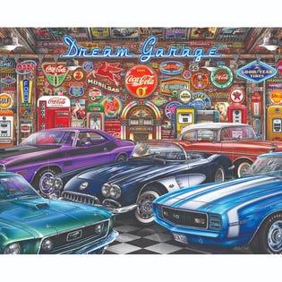 Spingbok 1000 Piece Puzzle Dream Garage (EA1)