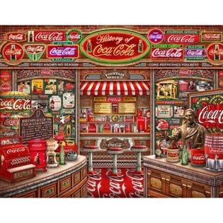 Springbok 1000 Piece Puzzle Coca Cola History (EA1)