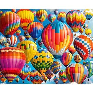 Springbok 1000 Piece Puzzle Balloon Fest (EA1)