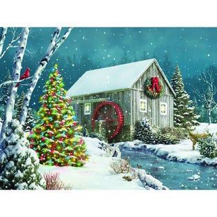 Springbok 500 Piece Puzzle The Falling Snow (EA1)