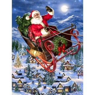 Springbok 500 Piece Puzzle Delivering Christmas (EA1)