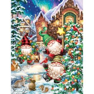 Springbok 500 Piece Puzzle Gnome Village (EA1)