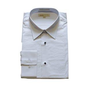 Men's Spread Collar Tuxedo Shirt