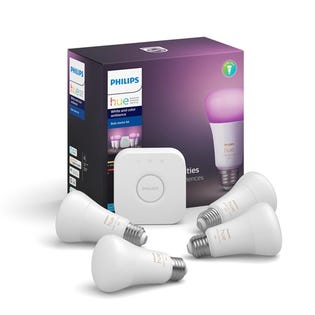 Philips Hue White & Color Ambience 4-Pk Starter Kit 548545
