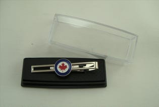 RCAF Roundel Tie Bar-Ladies