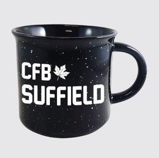 Tasse en céramique de la CFB Suffield