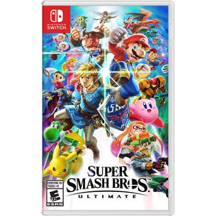 Switch Super Smash Bros Ultimate Game