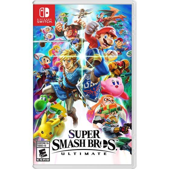 Switch Super Smash Bros Ultimate Game