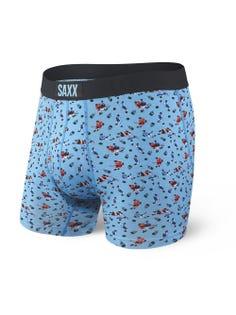 SAXX Ultra Caleçons boxer Blue Action