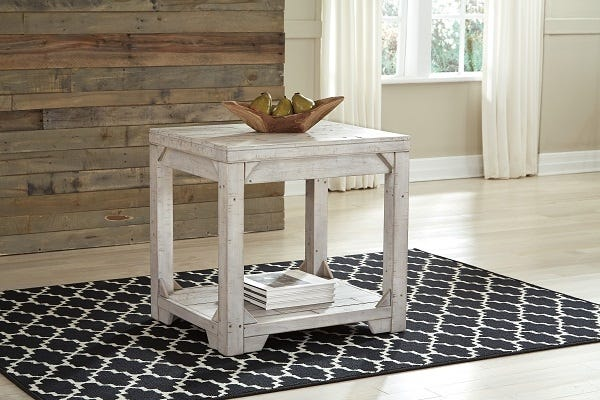 Ashley Rectangular End Table Fregine