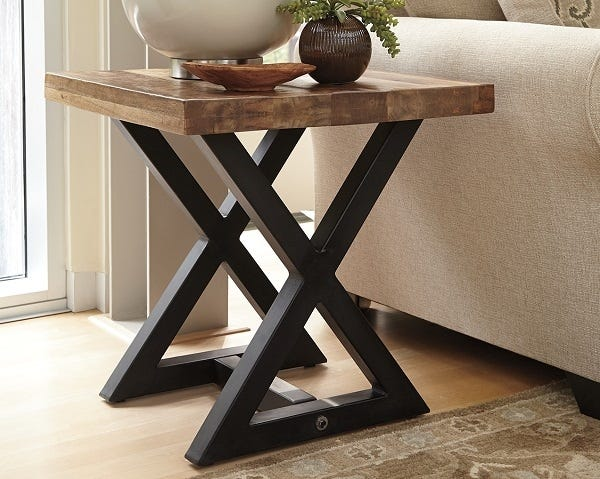 Ashley Square End Table Wesling
