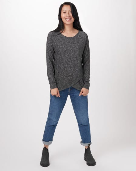 TENTREE Acre Long Sleeve Sweater