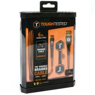 Tough Tested 6ft Micro USB Cable