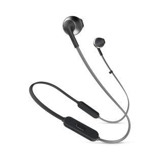 JBL Ear-Pod Wireless Headphone JBLT205BTBLKAM