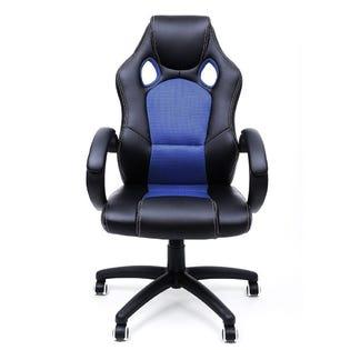 Chaise exécutive de style gaming inspirée du « Racing Design » vert noir TYFC20043B (EA1)