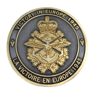 VE day 75th Anniversary Coin