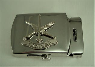 Public Affairs Army Belt Buckle