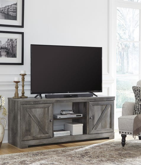 Ashley LG TV Stand with Fireplace Option Wynnlow