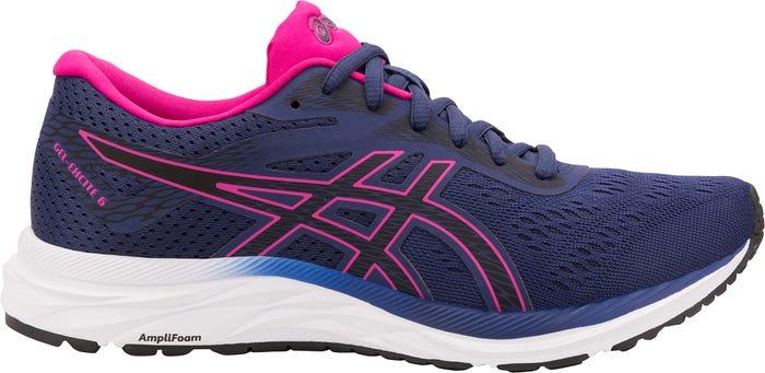 Asics Women's Gel Excite 6 Runners Blue/Pink