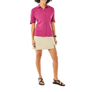 Royal Robbins Women's Expedition Short Sleeve Pink (EA1)