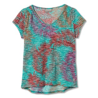 Royal Robbins Women's Featherweight Tee Turquoise (EA1)