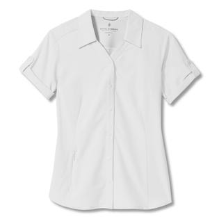 Royal Robbins Women's Expedition Pro Short Sleeve White (EA1)