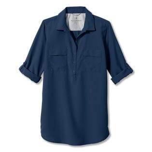 Royal Robbins Women's Expedition Tunic Blue (EA1)