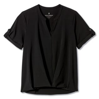 Royal Robbins Women's Spotless Traveler Short Sleeve Black (EA1)