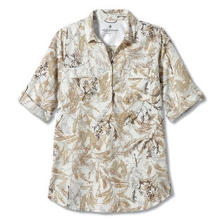 Royal Robbins Women's Expedition Tunic Print White (EA1)