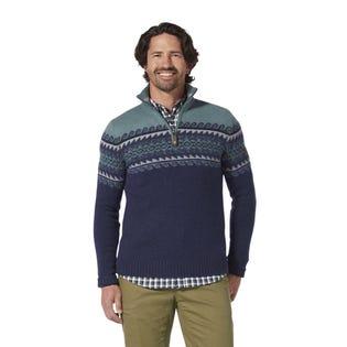 Royal Robbins Mens Sequoia Quarter Zip Sweater (EA1)