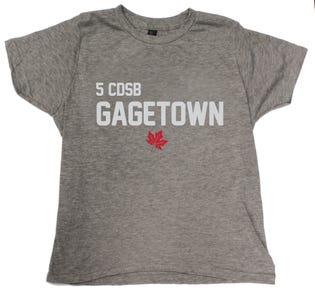5 CDSB Gagetown Children/Youth T-Shirt