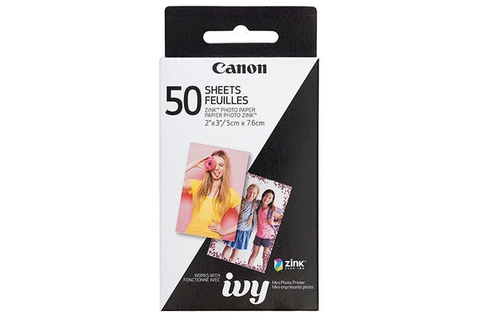 Canon Zink Paper 50 Pack